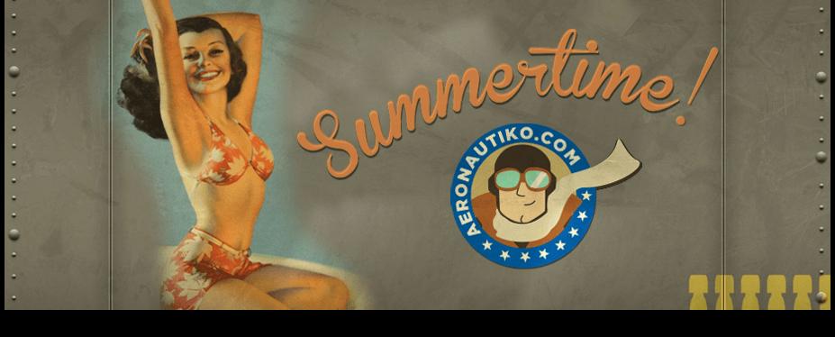 Aeronautiko newsletters Campaign