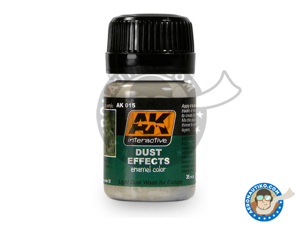 Image 1: Dust | AK Weathering efect product manufactured by AK Interactive (ref.AK-015)