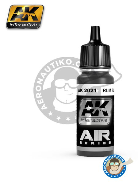 RLM 72 | Air Series | Acrylic paint manufactured by AK Interactive (ref.AK-2021) image