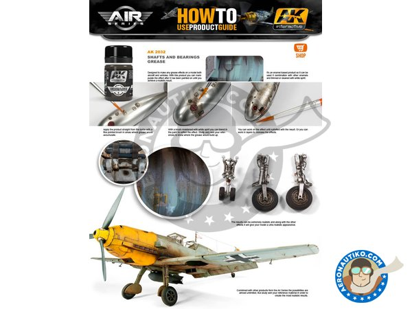 Image 3: Aircraft Landing Gear Weathering Set |Air Series New 2018 | Paints set manufactured by AK Interactive (ref.AK-2030)