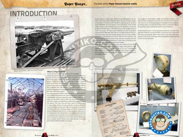 Image 1: Paper Panzer: Prototypes & What If Tanks | Book manufactured by AK Interactive (ref.AK-246)