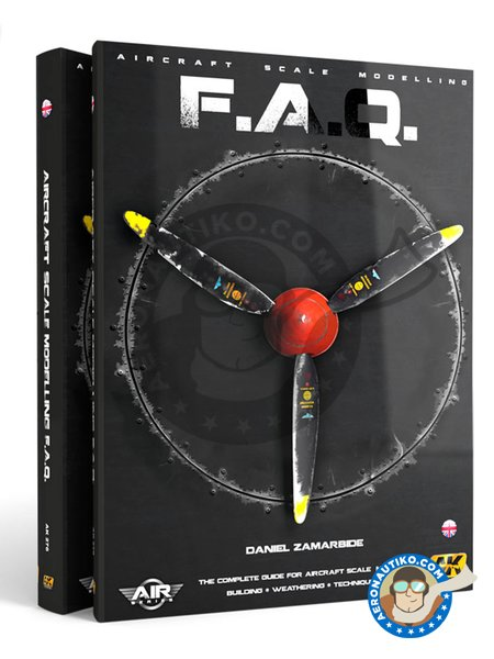 Aircraft Scale Modelling F.A.Q. | Book manufactured by AK Interactive (ref.AK-276) image