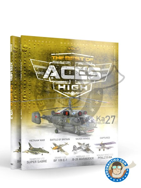 The Best of Aces High Vol. II | Book manufactured by AK Interactive (ref. AK-2926) image