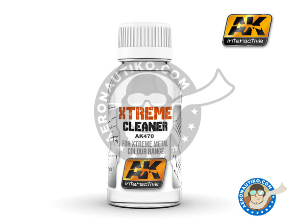 Image 1: Xtreme cleaner | Xtreme metal paint manufactured by AK Interactive (ref. AK-470)