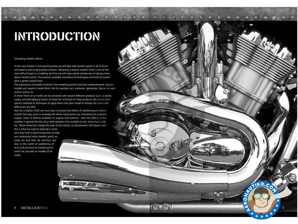 Image 1: Metallics Volumen 1 - Learning series 04 | Book manufactured by AK Interactive (ref.AK-507)