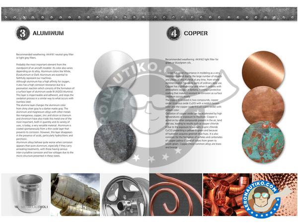 Image 2: Metallics Volumen 1 - Learning series 04 | Book manufactured by AK Interactive (ref.AK-507)