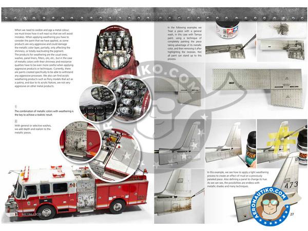 Image 3: Metallics Volumen 1 - Learning series 04 | Book manufactured by AK Interactive (ref.AK-507)