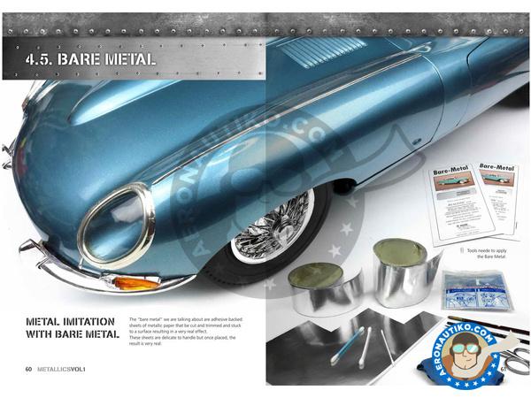 Image 4: Metallics Volumen 1 - Learning series 04 | Book manufactured by AK Interactive (ref.AK-507)