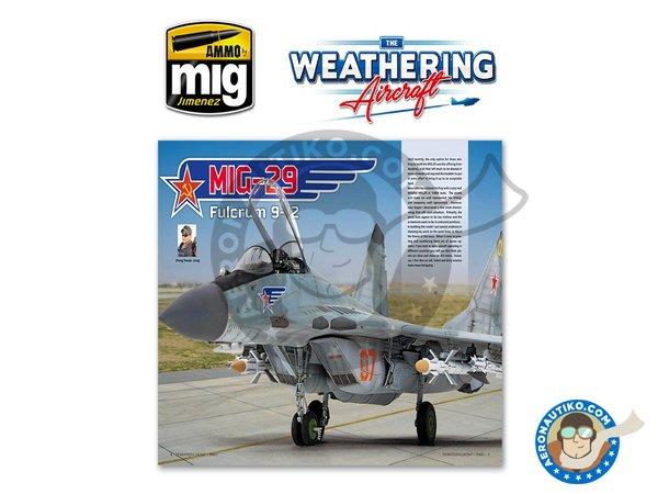 Image 1: Magazine The Weathering Aircraft. English language | Magazine manufactured by AMMO of Mig Jimenez (ref.A.MIG-5201)
