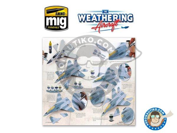 Image 2: Magazine The Weathering Aircraft. English language | Magazine manufactured by AMMO of Mig Jimenez (ref.A.MIG-5201)