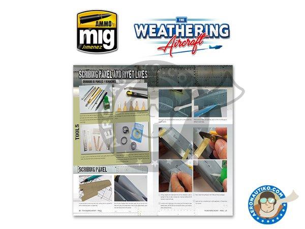 Image 3: Magazine The Weathering Aircraft. English language | Magazine manufactured by AMMO of Mig Jimenez (ref.A.MIG-5201)