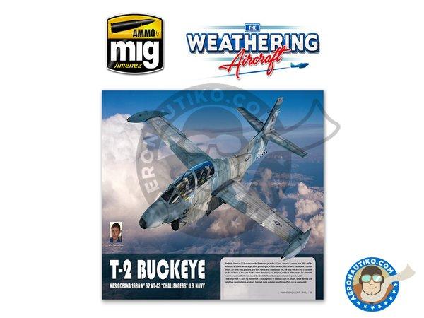 Image 4: Magazine The Weathering Aircraft. English language | Magazine manufactured by AMMO of Mig Jimenez (ref.A.MIG-5201)