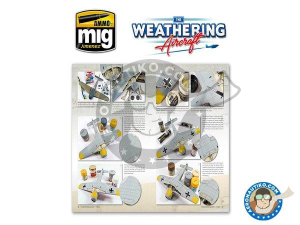 Image 6: Magazine The Weathering Aircraft. English language | Magazine manufactured by AMMO of Mig Jimenez (ref.A.MIG-5201)