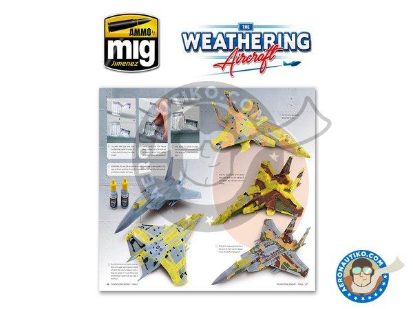 Image 7: Magazine The Weathering Aircraft. English language | Magazine manufactured by AMMO of Mig Jimenez (ref.A.MIG-5201)