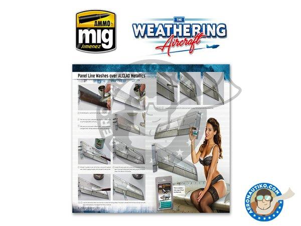 Image 8: Magazine The Weathering Aircraft. English language | Magazine manufactured by AMMO of Mig Jimenez (ref.A.MIG-5201)
