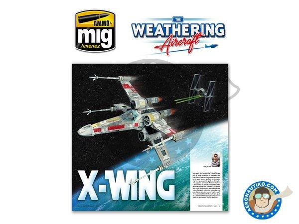 Image 9: Magazine The Weathering Aircraft. English language | Magazine manufactured by AMMO of Mig Jimenez (ref.A.MIG-5201)