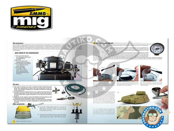 Image 1: Modelling Guide: How To Paint With Acrylics | Book manufactured by AMMO of Mig Jimenez (ref.A.MIG-6040)