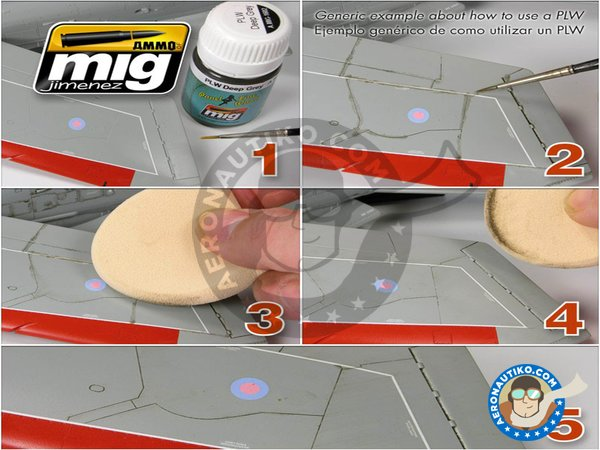 Image 4: Metallic Airplanes & Jets | Weathering Sets | Paints set manufactured by AMMO of Mig Jimenez (ref. A.MIG-7423)