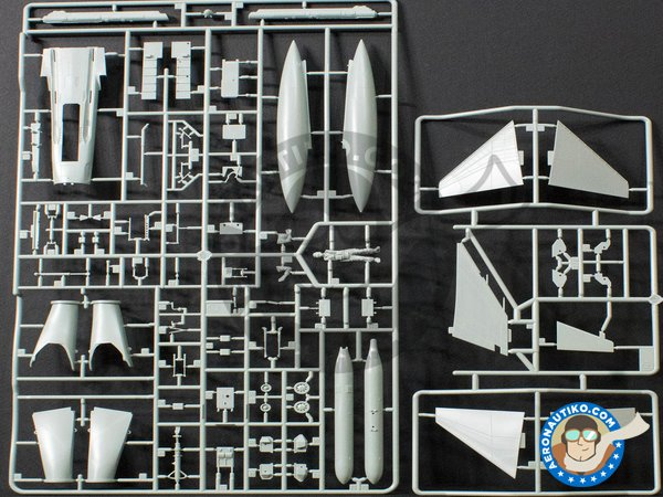 Image 3: McDonnell F-4 Phantom II J | Airplane kit in 1/48 scale manufactured by Academy (ref. 12315)