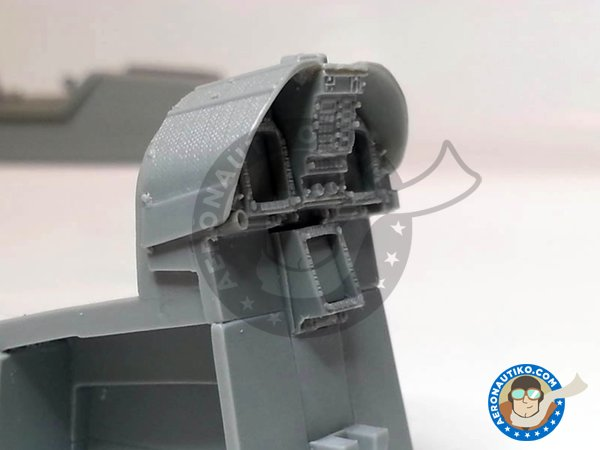 Image 6: F/A-18C Hornet cockpit set | Cockpit set in 1/32 scale manufactured by Aires (ref. AIRES-2035)