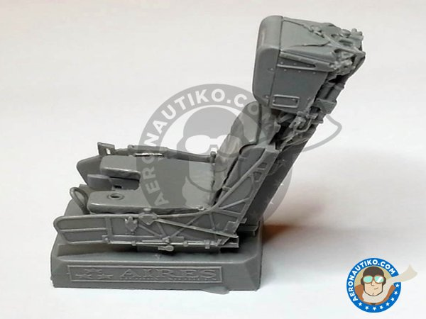 Image 9: F/A-18C Hornet cockpit set | Cockpit set in 1/32 scale manufactured by Aires (ref. AIRES-2035)