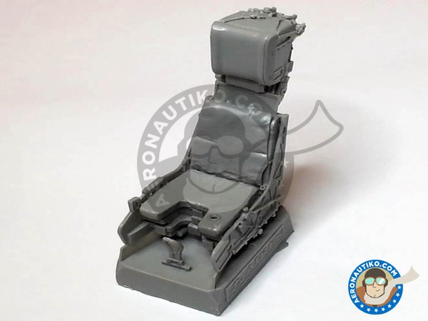 Image 10: F/A-18C Hornet cockpit set | Cockpit set in 1/32 scale manufactured by Aires (ref. AIRES-2035)