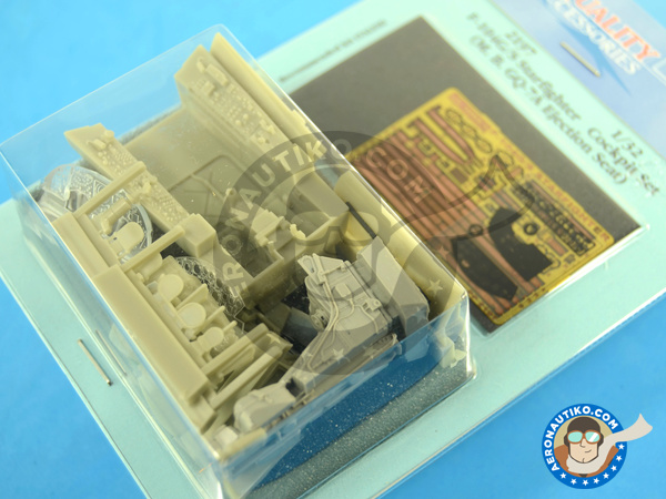 Image 1: Lockheed F-104 Starfighter G / S | Cockpit set in 1/32 scale manufactured by Aires (ref.AIRES-2197)