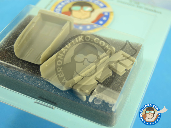 Image 3: Mikoyan-Gurevich MiG-23 Flogger MF/ML | Air intake in 1/48 scale manufactured by Aires (ref.AIRES-4653)