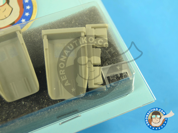 Image 4: Mikoyan-Gurevich MiG-23 Flogger MF/ML | Air intake in 1/48 scale manufactured by Aires (ref.AIRES-4653)