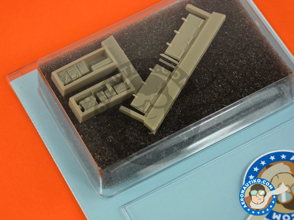 Image 3: Panavia Tornado IDS | Electronic bay in 1/48 scale manufactured by Aires (ref. AIRES-4664)