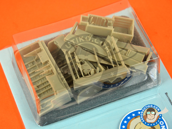 Image 3: Panavia Tornado IDS | Wheel bay in 1/48 scale manufactured by Aires (ref.AIRES-4675)