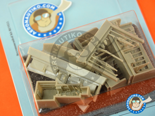 Image 4: Panavia Tornado IDS | Wheel bay in 1/48 scale manufactured by Aires (ref.AIRES-4675)
