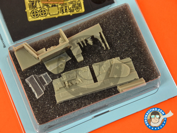 Image 3: Messerschmitt Bf 109 G-6 late | Cockpit set in 1/48 scale manufactured by Aires (ref. AIRES-4685)