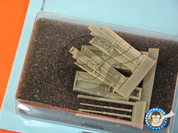 Image 3: Panavia Tornado IDS | Airbrakes in 1/48 scale manufactured by Aires (ref. AIRES-4696)