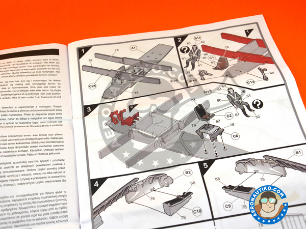 Image 4: Bristol Beaufighter TF Mk. X | Airplane kit in 1/72 scale manufactured by Airfix (ref. A04019)