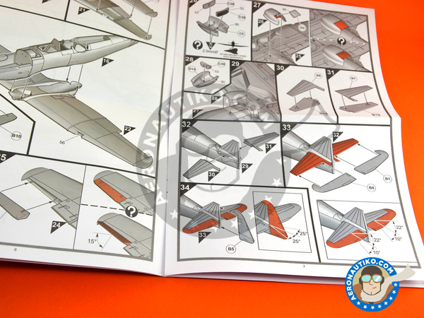 Image 6: Boulton Paul Defiant Mk. I | Airplane kit in 1/48 scale manufactured by Airfix (ref.A05128)