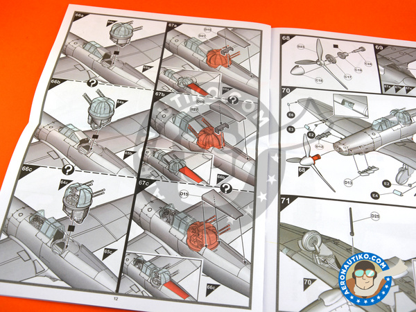 Image 7: Boulton Paul Defiant Mk. I | Airplane kit in 1/48 scale manufactured by Airfix (ref.A05128)