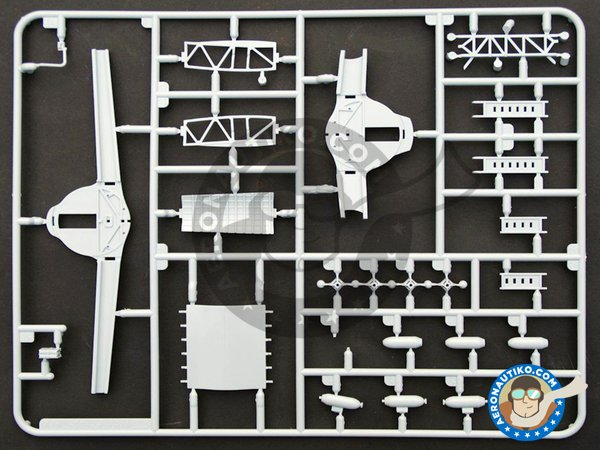 Image 4: Boeing B-17 Flying Fortress G | Airplane kit in 1/72 scale manufactured by Airfix (ref.A08017)