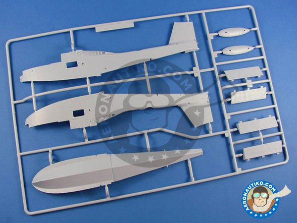 Image 1: Supermarine Walrus Mk.I | Airplane kit in 1/48 scale manufactured by Airfix (ref.A09183)