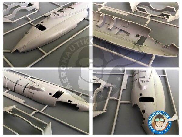 Image 1: Handley Page Victor B Mk II | Airplane kit in 1/72 scale manufactured by Airfix (ref. A12008)