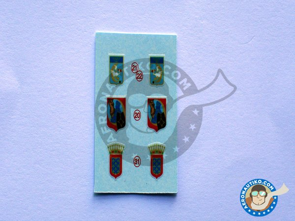 """Image 2: Junkers 52 """"French sevice""""   Marking / livery in 1/72 scale manufactured by Berna Decals (ref.BD72-98)"""