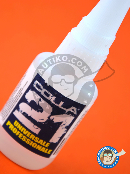 Colle 21 Cyanoacrylate Liquid Glue (21g) | Glue manufactured by Colle 21 (ref. 0001) image
