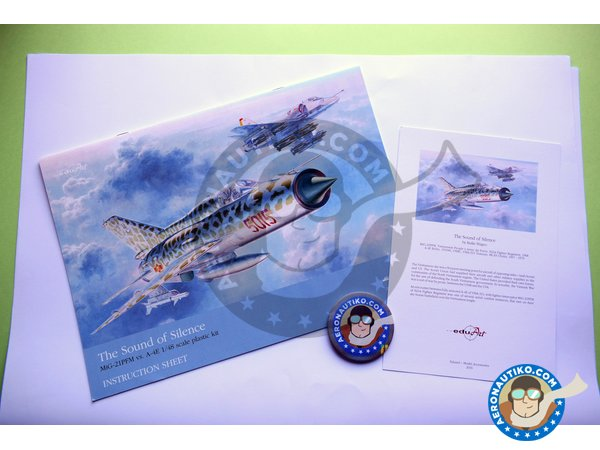 Image 2: The Sound of Silence | Airplane kit in 1/48 scale manufactured by Eduard (ref. 11101)