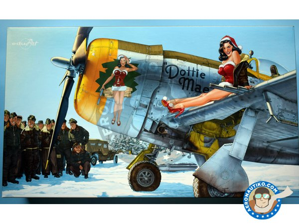 Image 5: Republic P-47 D | Airplane kit in 1/32 scale manufactured by Eduard (ref. 11103)