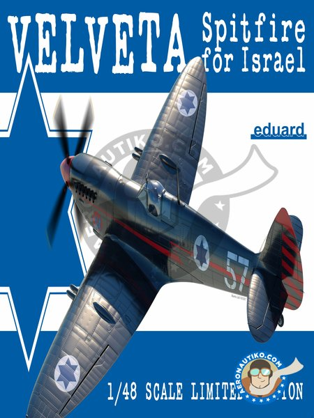 Supermarine Spitfire Mk.IXe Velveta | Airplane kit in 1/48 scale manufactured by Eduard (ref. 11111) image