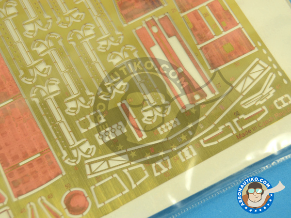 Image 2: Douglas EKA-3 Skywarrior Exterior | Photo-etched parts in 1/48 scale manufactured by Eduard (ref.48879)