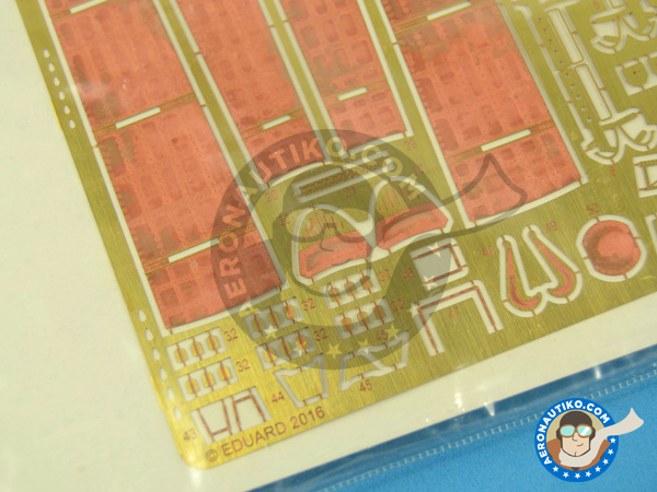 Image 5: Douglas EKA-3 Skywarrior Exterior | Photo-etched parts in 1/48 scale manufactured by Eduard (ref.48879)
