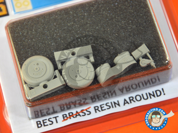 Image 3: Mitsubishi A6M Zero 5c Zeke Type 52 | Brassin detail up set in 1/32 scale manufactured by Eduard (ref.632087)