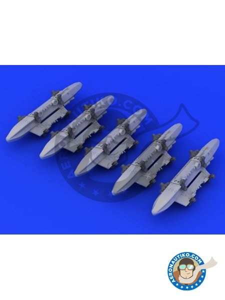 TER Triple Ejector Rack | Missiles in 1/48 scale manufactured by Eduard (ref. 648232) image