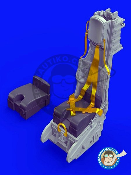 F-104 C2 Ejection Seat | Brassin | Ejection seat in 1/48 scale manufactured by Eduard (ref. 648286) image